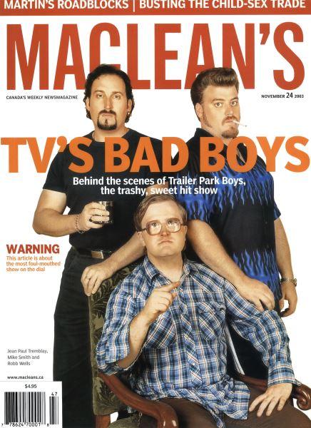 Issue: - November 2003 | Maclean's