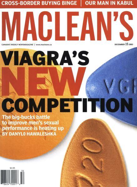 Issue: - December 2003   Maclean's