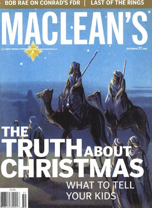 Cover for the December 22 2003 issue
