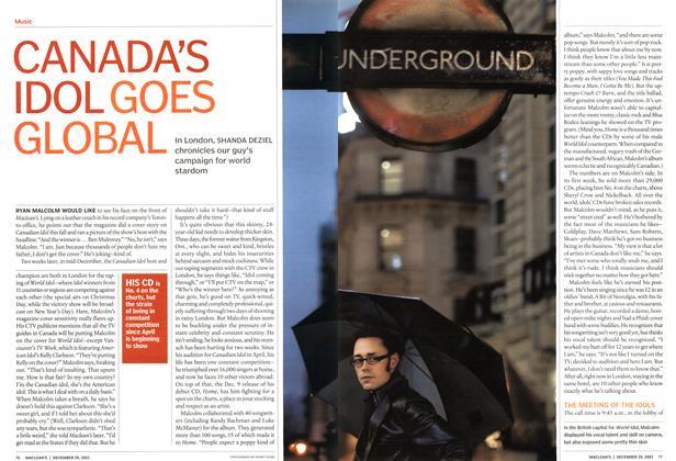 CANADA'S IDOL GOES GLOBAL