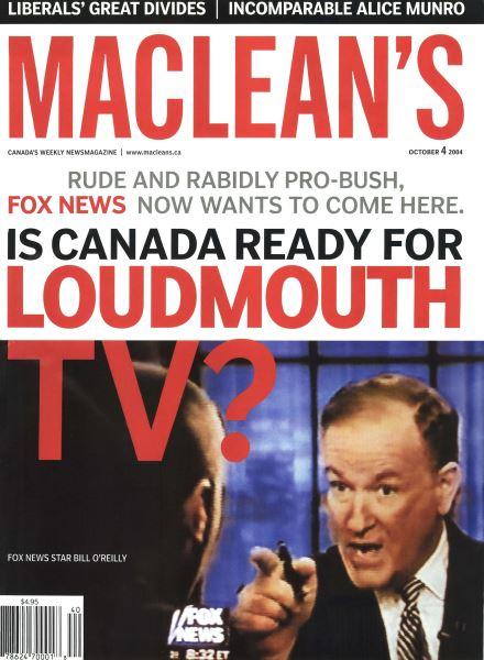 Issue: - October 2004 | Maclean's