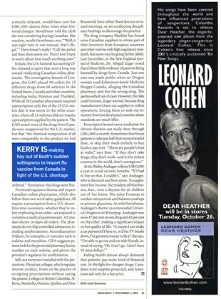 Advertisement, Page: 35 - NOVEMBER 1 2004 | Maclean's