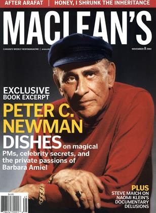Cover for the November 8 2004 issue