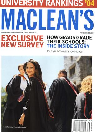 Cover for the November 15 2004 issue