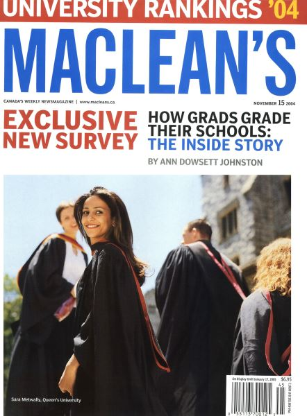 Issue: - November 2004 | Maclean's