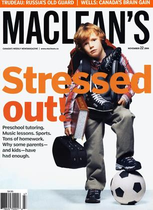 Cover for the November 22 2004 issue