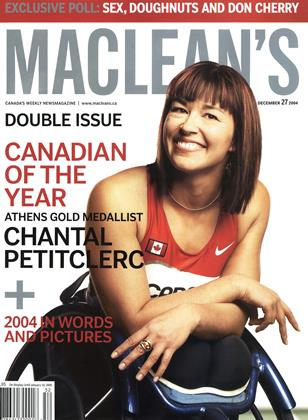 Cover for the December 27 2004 issue