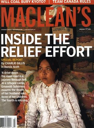Cover for the January 17 2005 issue