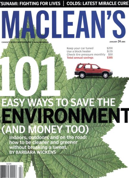 Issue: - January 24th 2005 | Maclean's