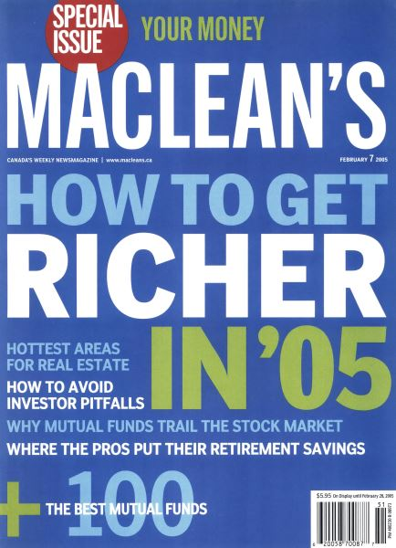 Issue: - February 7th 2005 | Maclean's