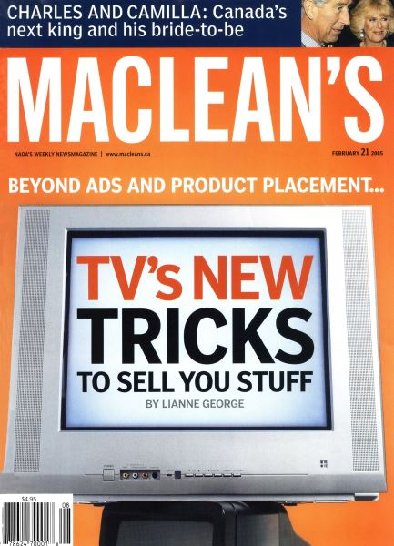 Issue: - February 21st 2005 | Maclean's