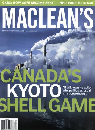Cover for the February 28 2005 issue
