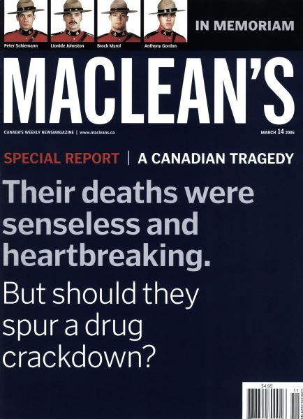 Issue: - March 14th 2005 | Maclean's