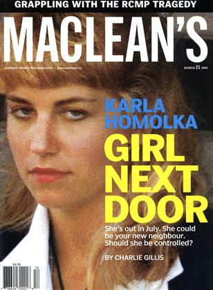 Cover for the March 21 2005 issue