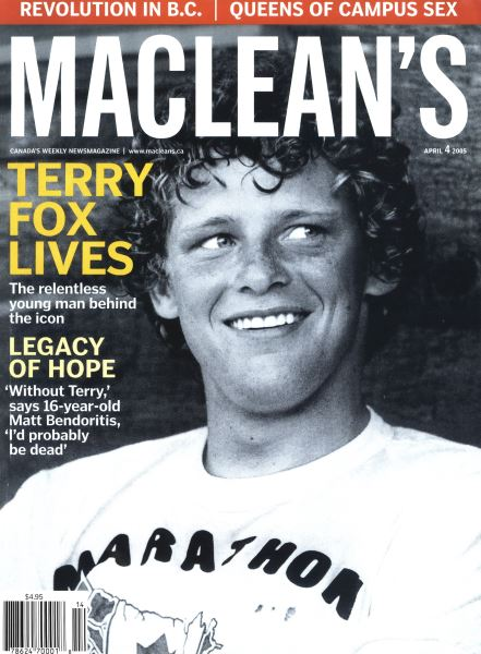 Issue: - April 4th 2005 | Maclean's