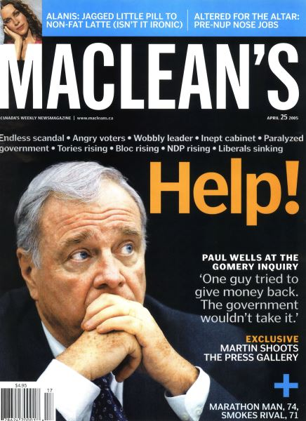 Issue: - April 25th 2005 | Maclean's