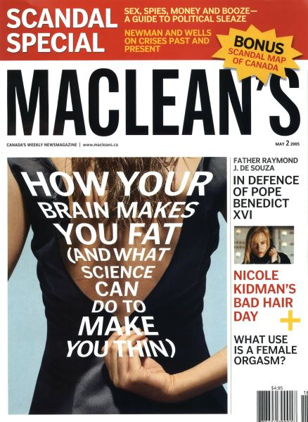 Issue: - May 2nd 2005 | Maclean's