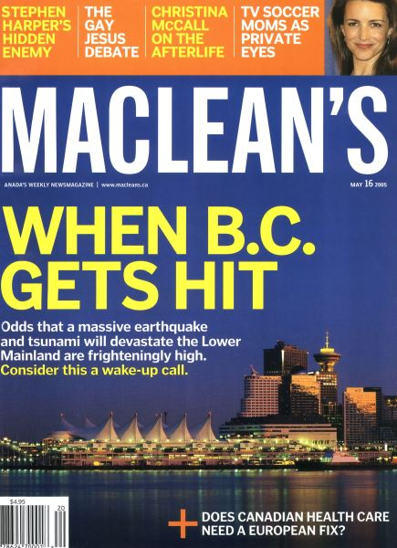 Issue: - May 16th 2005 | Maclean's