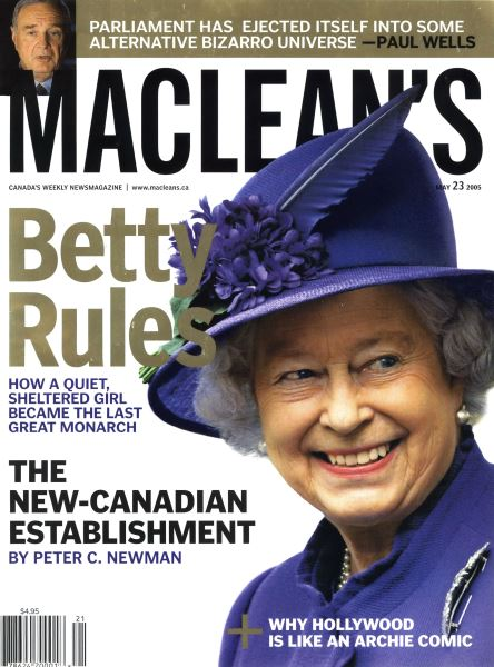 Issue: - May 23rd 2005 | Maclean's