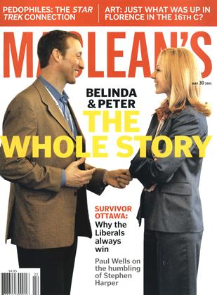 Cover for the May 30 2005 issue