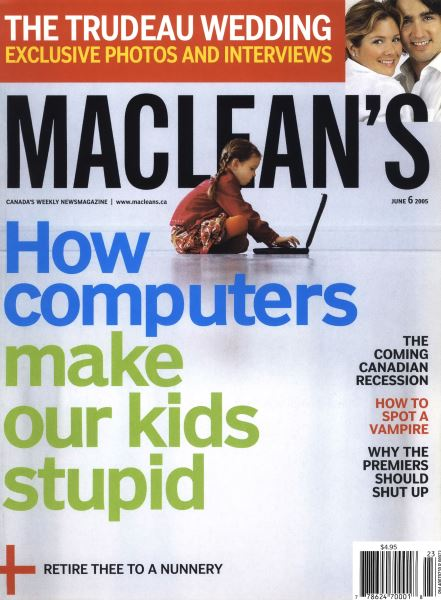 Issue: - June 6th 2005 | Maclean's