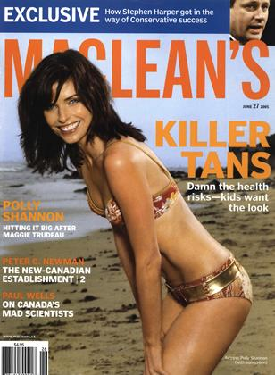 Cover for the June 27 2005 issue
