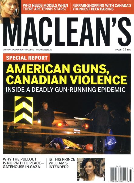 Issue: - August 15th 2005 | Maclean's