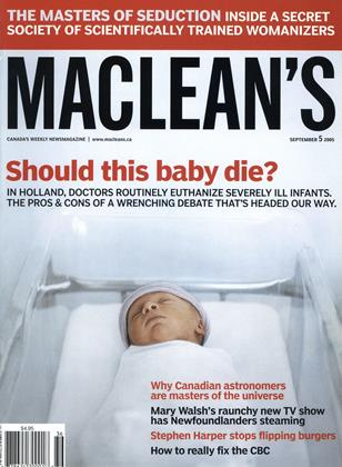 Cover for the September 5 2005 issue