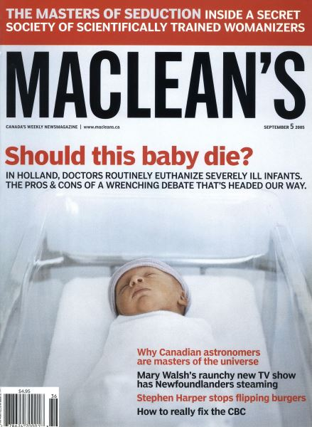Issue: - September 5th 2005 | Maclean's