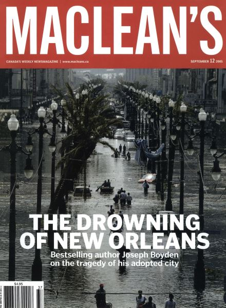 Issue: - September 12th 2005 | Maclean's
