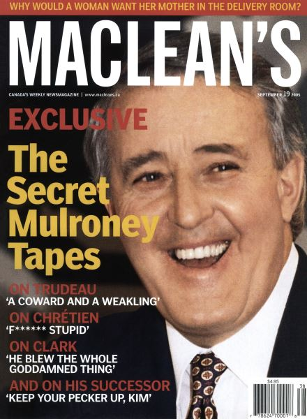 Issue: - September 19th 2005 | Maclean's