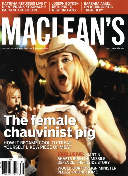 Issue: - September 26th 2005 | Maclean's