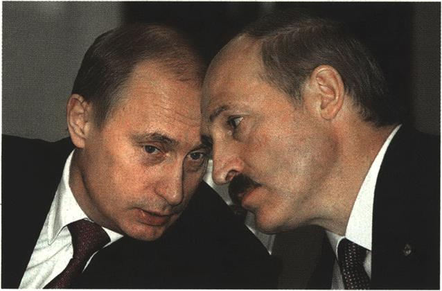 Lukashenko with Putin