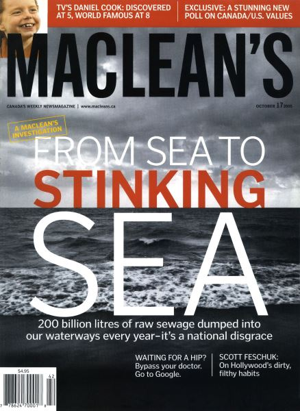 Issue: - October 17th 2005 | Maclean's