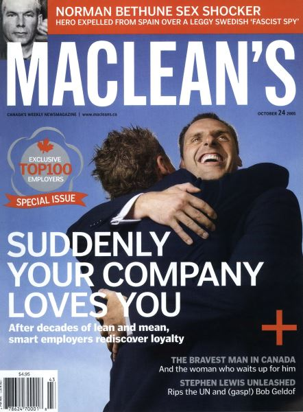 Issue: - October 24th 2005 | Maclean's