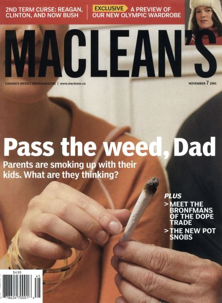 Issue: - November 7th 2005 | Maclean's