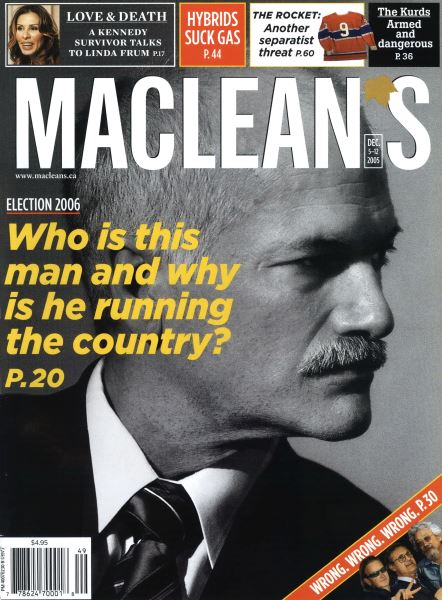 Issue: - December 6-12 2005 | Maclean's