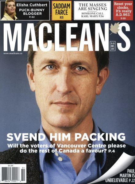 Issue: - DEC. 19-26 2005 | Maclean's