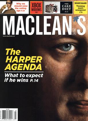 Cover for the January 16 2006 issue