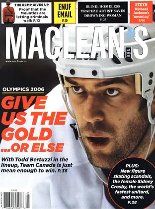 Cover for the January 30 2006 issue
