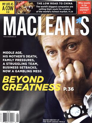 Cover for the February 20 2006 issue