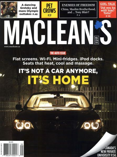Issue: - FEB. 27th 2006 | Maclean's