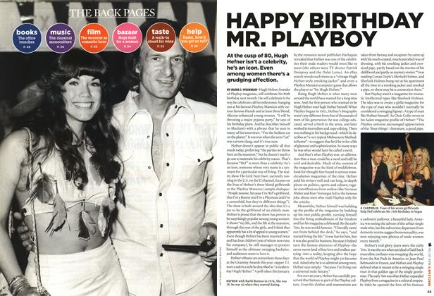 HAPPY BIRTHDAY MR. PLAYBOY