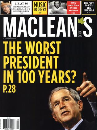 Cover for the April 17 2006 issue