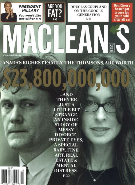 Issue: - MAY 8th 2006 | Maclean's