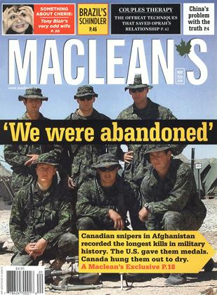 Cover for the May 15 2006 issue