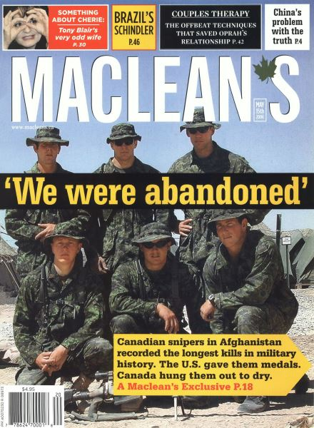 Issue: - MAY 15th 2006 | Maclean's