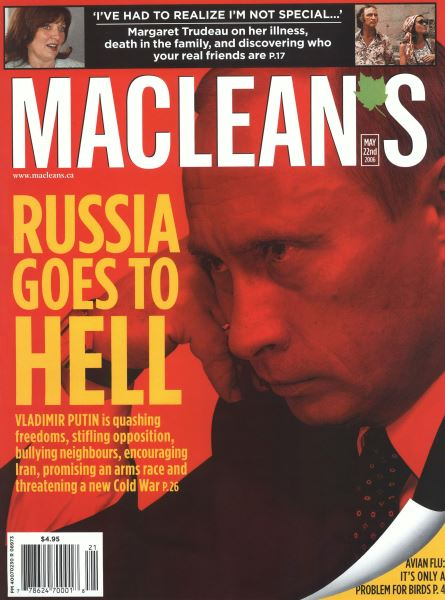 Issue: - MAY 22nd 2006 | Maclean's