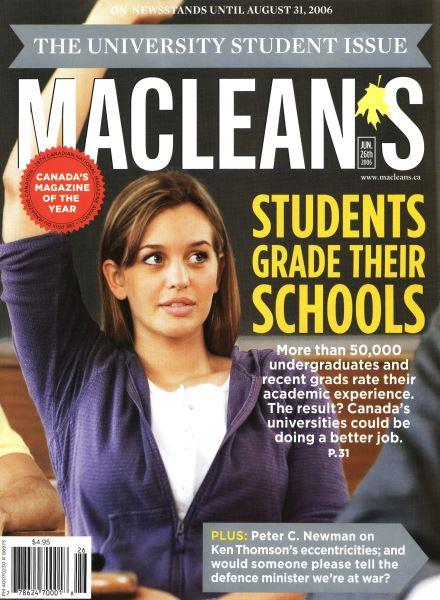 Issue: - JUN. 26th 2006 | Maclean's