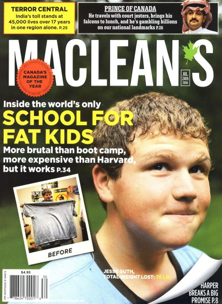 Issue: - JUL 24th 2006 | Maclean's